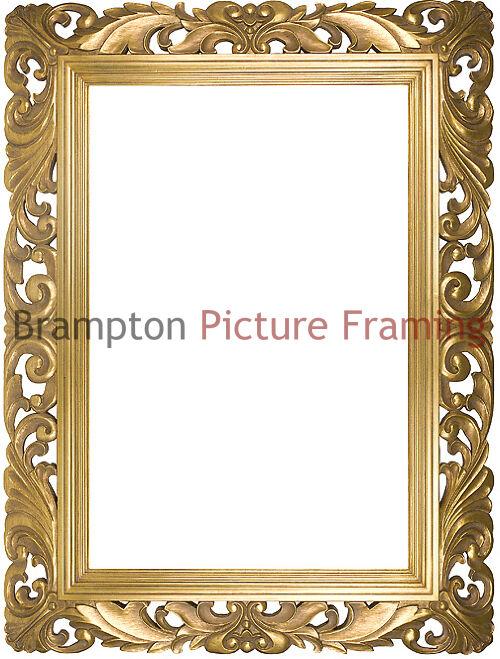 6 5 Swept Vintage Shabby Chic Ornate Picture Frame 24x36